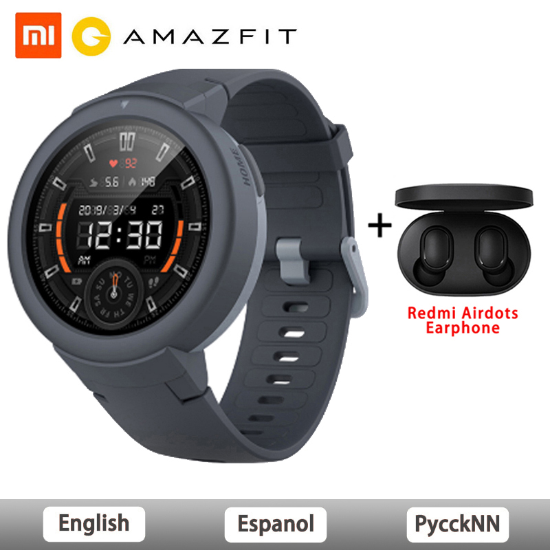 Original Amazfit Verge Lite Smart Watch Global Version GPS 1.3