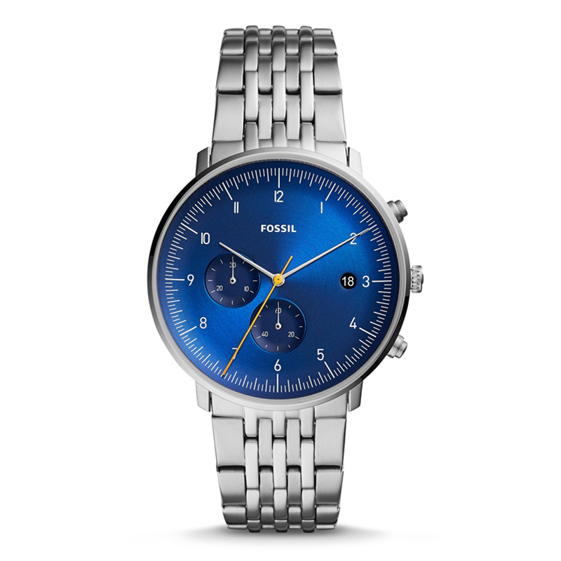 FOSSIL CHASE TIMER Chronograph Wristwatch Mens with Stainless Steel Mens Watches top brand luxury FS5542P