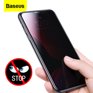 Baseus 2pcs 0.3mm Screen Protector Tempered Glass For iPhone 11 Pro Max Anti Peeping Protective Cover For iPhone 11 Glass Film|Phone Screen Protectors| |  -