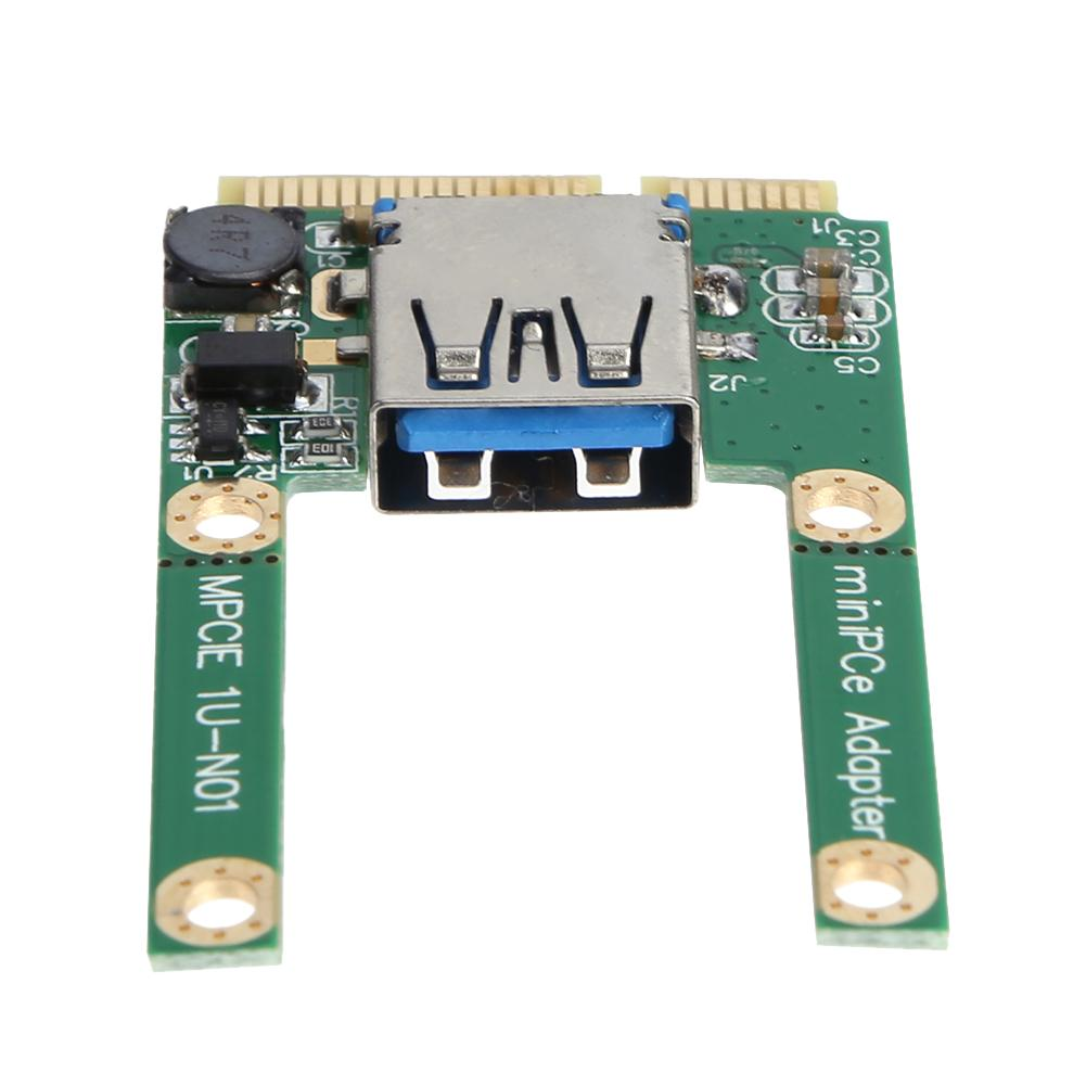 Mini PCI-E To USB3.0 PCI Express Card PCI-E To USB 3.0 Expansion Card Computer Components Add On Cards For Laptop
