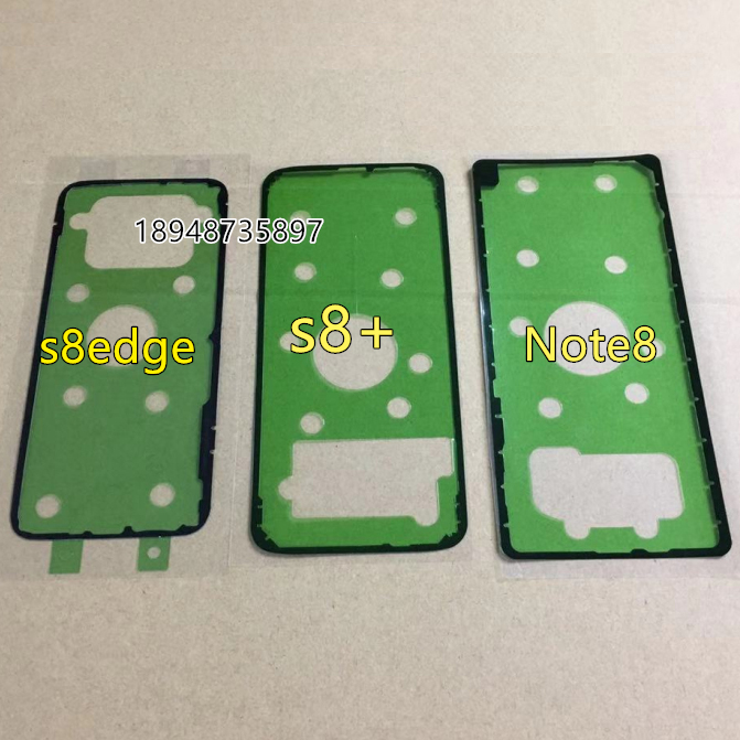 For Samsung Galaxy S6 S7 Edge Plus S8 S9 Plus Note 5 8 9 Phone Housing Frame Back Glass Glue Adhesive Battery Cover Tape Sticker