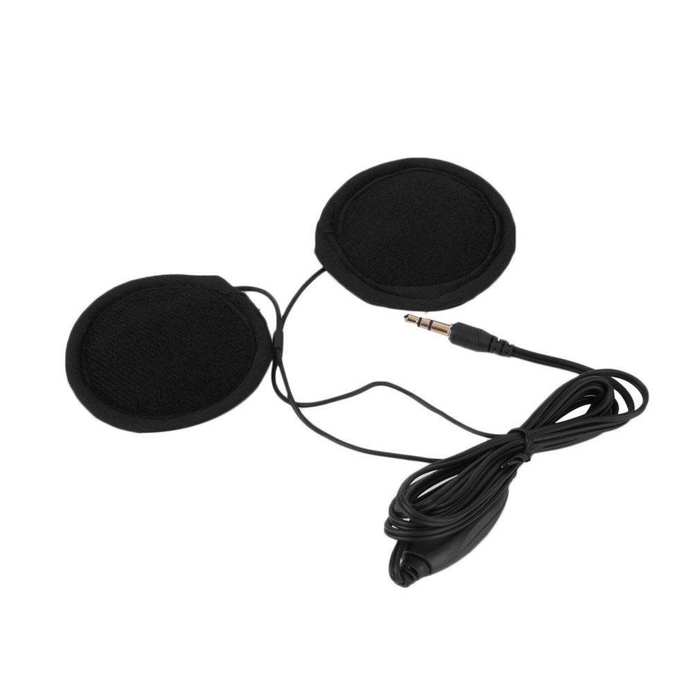 3.5mm Motorbike Motorcycle Helmet Stereo Speakers Headphones Volume Control Earphone for MP3 GPS Phone Music