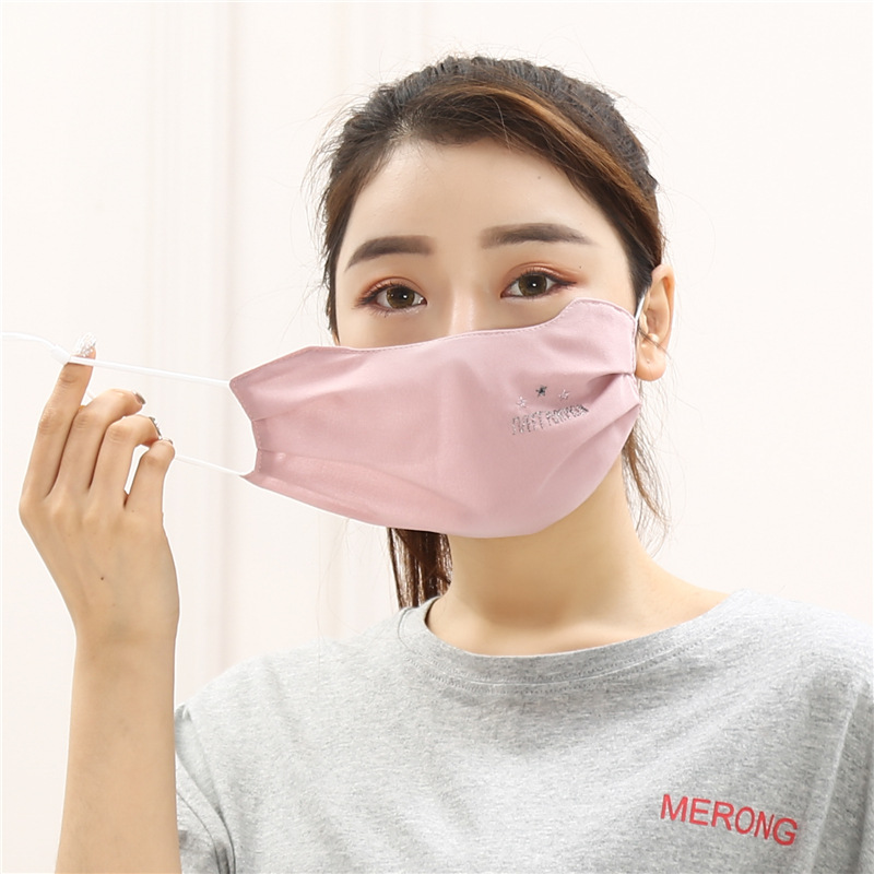 Online Celebrity New Style Outdoor Spring Summer Thin Section Breathable Sun-resistant UV-Protection Women's Real Silk Dust Resp