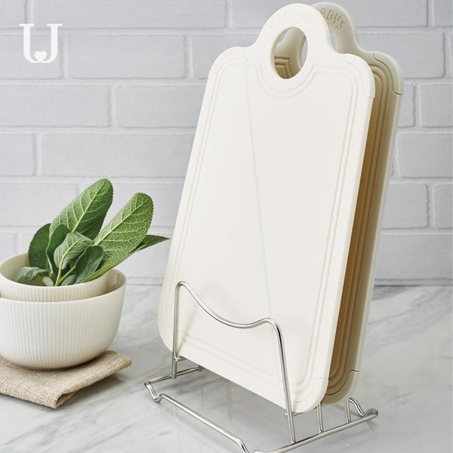 Youpin Jordan & Judy Foldable 커팅 보드 주방 커팅 보드 가정용 미니 과일 커팅 보드 식품 학년 PP + 실리콘