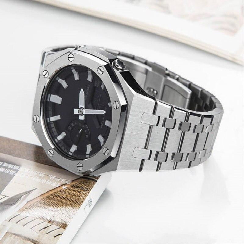3nd Ga-2100 pulseira de metal 3rd para