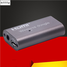Récepteur de Dongle sans fil 2.4G 5G 1080P 4K sans fil HDMI Dongle bâton de télévision Miracast Airplay affichage Wifi Dongle miroir écran moulé