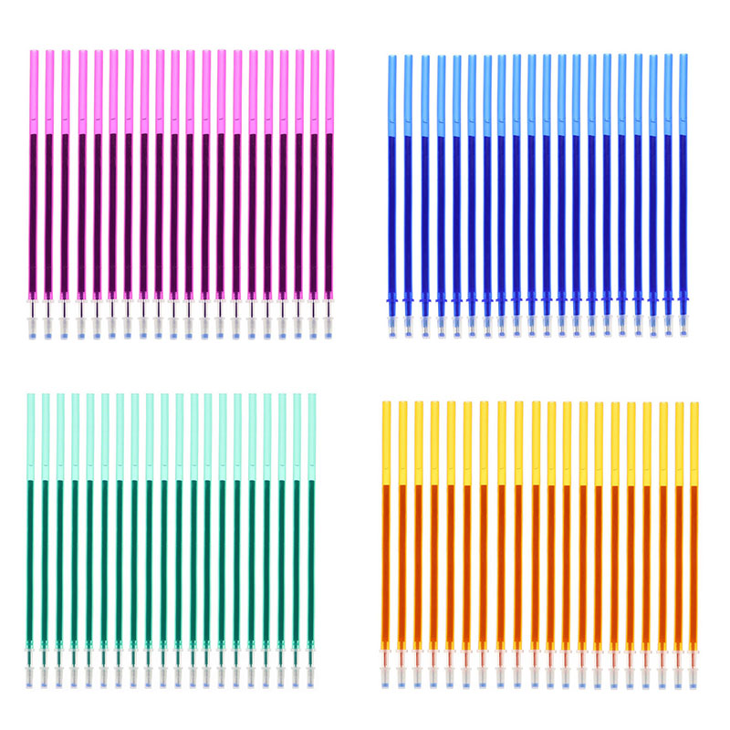 Erasable Pen Can Add 20 Sets / Set Of Gel Refills 0.5mm Magic Erasable Multicolor Ink Stationery School Office Writing Tools