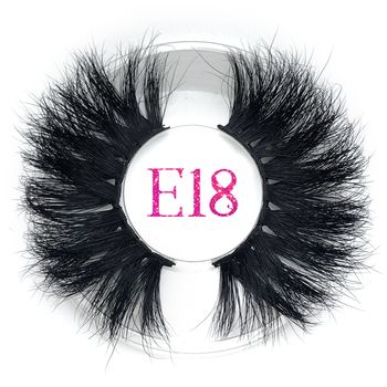 Mikiwi 25mm Fluffy False Eyelashes thick Strip Long 3D Mink Lashes Makeup Dramatic