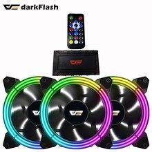 Darkflash CF11 aura sync PC Computer Fall Lüfter ARGB Einstellen 120mm Ruhig IR Remote-computer Kühler Kühlung RGB fall Fan