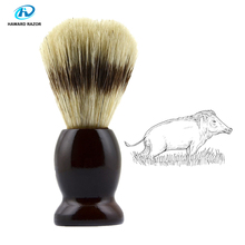 цена на HAWARD Shaving Brush Wooden Handle Bristle Boar Hair Beard Cleaning Brush Safety Razor Shaving Brush Man Grooming Personal Care