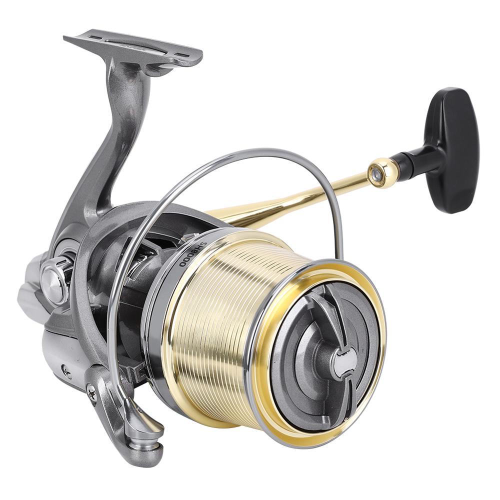 Lightweight Fishing Reel Long Casting Spinning Reel Full Water Dual-Use 20KG Braking Force Fishing Reel Fishing Tackle