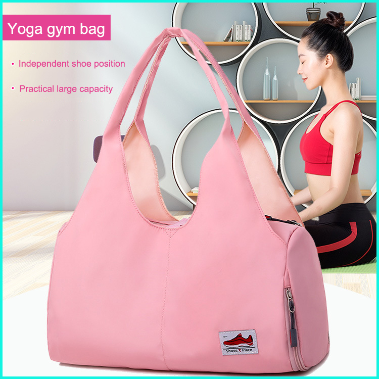 Quality Multifunctional Waterproof Yoga Bag for Gym Mat Nylon Backpack Shoulder Carriers Yoga Pilates Mat Bag no Yoga Mat in Travel Bags from Luggage Bags