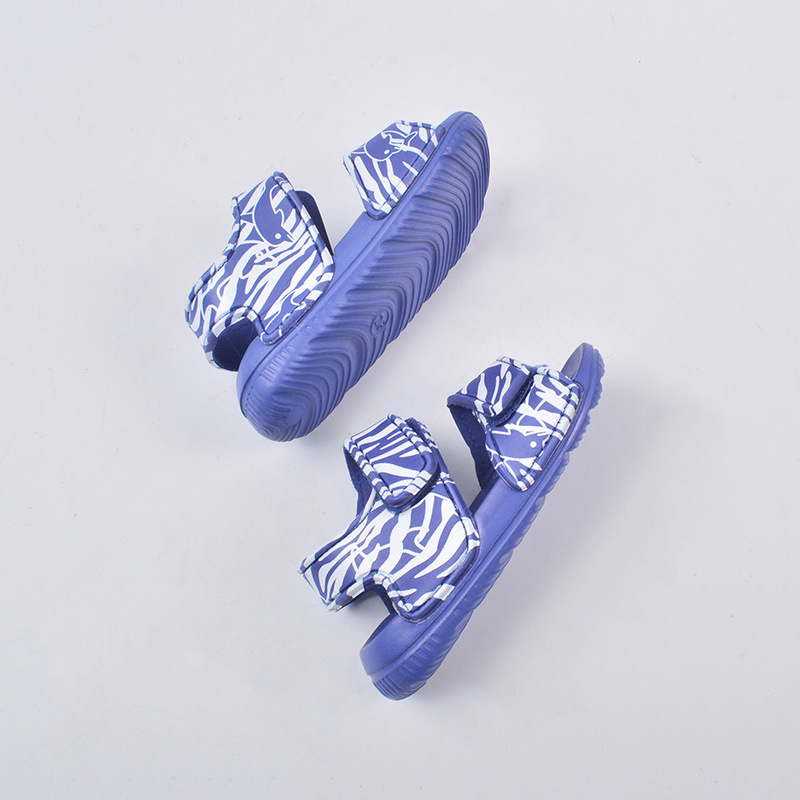 2020 Summer Baby Kids Sandals Shoes Slipper Beach Shoes Toddler Baby Boys Girls Casual Closed Toe Beach Pool Flat Slip-on Shoes