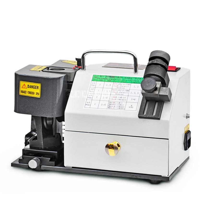 GD-313 Portable End Mill Sharpening Machine Milling Cutter Grinder Drill Grinding Machine End Mill Grinder 110V/220V 300W 3-13mm