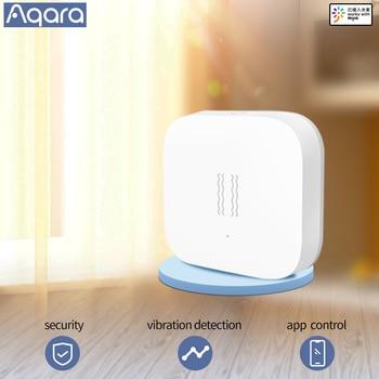 Aqara Smart Motion Sensor Shock Sensor Vibration Detection Alarm Monitor Zigbees Ensor Smart Home Sensor
