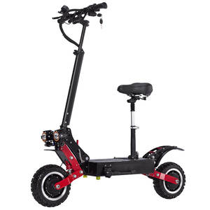 Janobike Dual-Motor Scooter 5600W Electric-All 85km/H with Hydraulic-Brake Aluminum-Alloy