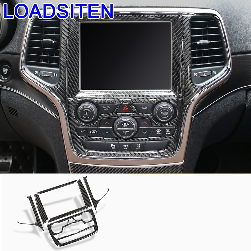 Decorative Auto Chromium Control System Cup Gear Interior Dashing Car Styling Decoration Accessory 15 16 17 FOR Ford Edge