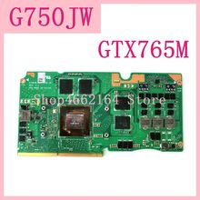 ROG G750JW GTX765M N14E-GE-A1 VGA graphics card board For ASUS Laptopo ROG G750JS G750J G750JW_MXM VGA Graphic card Video card цена