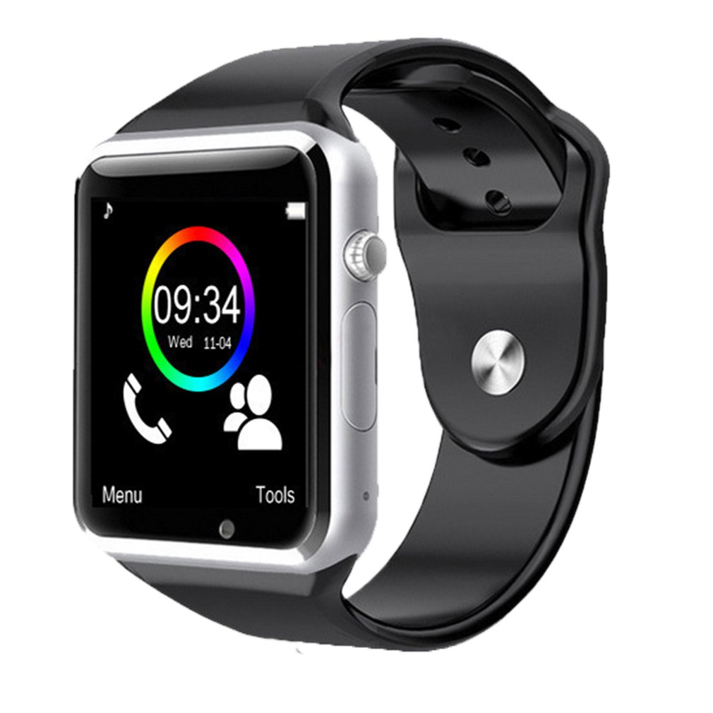 <font><b>A1</b></font> Wristwatch <font><b>Bluetooth</b></font> <font><b>Smart</b></font> <font><b>Watch</b></font> Band <font><b>Sport</b></font> Pedometer With Camera Smartwatch For Android Smartphone Russia T15 good than DZ09 image