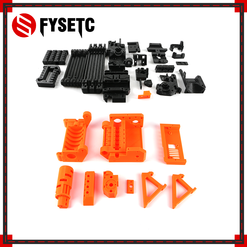 3D Printer PLA Required PLA Plastic Parts Set Printed Parts Kit For Prusa I3 MK2.5S MK3S MMU2S Multi Material 2S Upgrade Kit