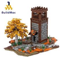 Buildmoc Watchtower Spielzeug Gebäude Kompatibel Mit Lepining Stadt Serie Bausteine Die Gefängnis Insel Spielzeug Geschenk