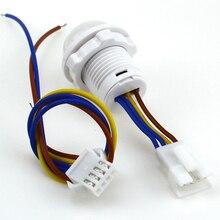 цена на Mini Closet PIR Sensor Detector Smart Switch 110V 220V LED PIR Infrared Motion Sensor Detection Automatic Sensor Light Switch