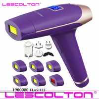Lescolton t009i 1900000 coups peuvent choisir IPL épilador LCD machine d'affichage laser permanent bikini tondeuse électrique IPL épilateur