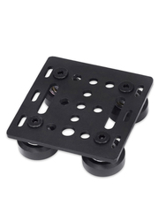 For 3D Printer Parts 2020 Special Slide Plate 20mm for Mini Five Roulette Profiles V-slot Gantry Plat
