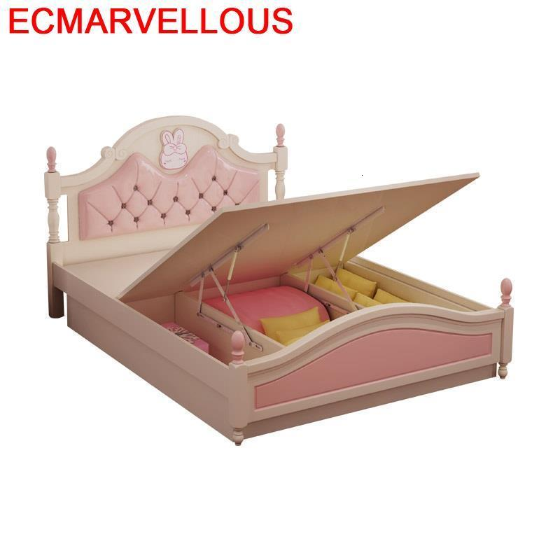 Infantiles Letto Lit Enfant Bois For Children Baby Crib Litera Bedroom Furniture Wood Wooden Muebles Cama Infantil Kids Bed