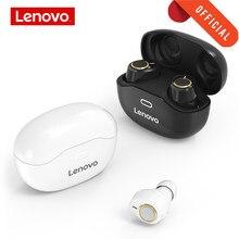 Oryginalny Lenovo Bluetooth słuchawki lekki dotykowy przycisk lekki dotykowy zestaw słuchawkowy Bluetooth zatyczki do uszu głęboki bas sportowe słuchawki douszne z mikrofonem