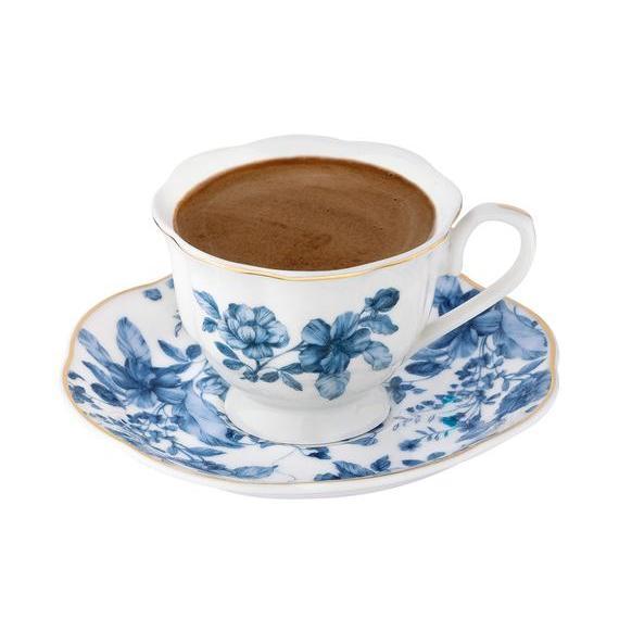 Service de café turc en porcelaine | Service de thé, tasses et soucoupes de café en porcelaine, os, set de café turc fabriqué en turquie