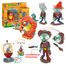 Genuine Plants Vs. Zombie Toys 2 Complete Set Of Boys Large Ejection Soft Silicone Anime Figurechildren's Dolls No Box