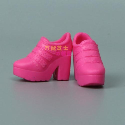 1/6 Doll Accessories Fashion Sneaker Flat Shoes Genuine Sandals Shoeshigh-heeled shoes for Barbie Doll Shoes 15