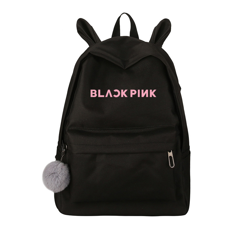 Newest Lovely Got7 Backpack Women Wanna One Blackpink Monsta X Twice Canvas School Travel Bag Backpack Sac A Dos Femme
