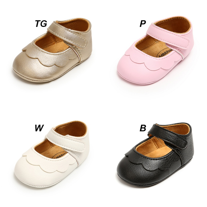 2020 Classic Wild PU Hundred Day Princess Baptism Toddler Shoes 0M-18M Newborn Baby  Girls First Walkers Shoes Infant Toddle