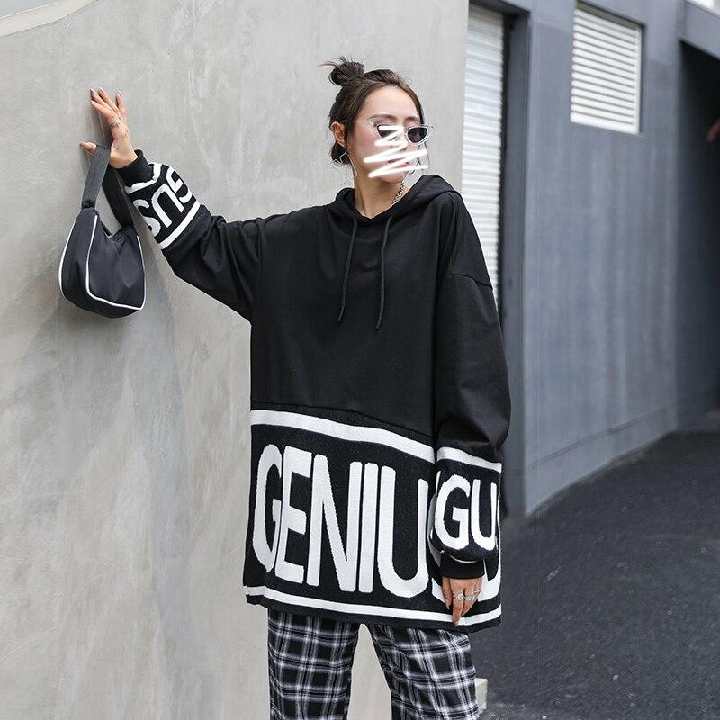 Купить xuxi женская толстовка с длинными рукавами модная уличная одежда