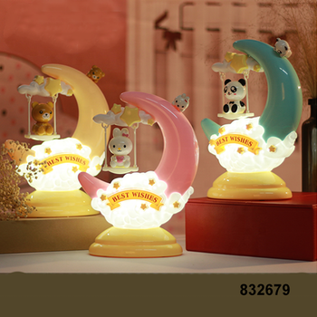 Hot Products Desk Led Night Cartoon Moon Kids Table Lamp  1 Buyer  832679
