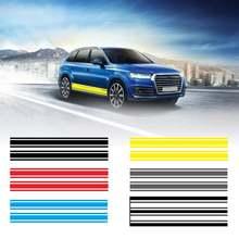 Универсальные автомобильные наклейки в полоску виниловые Стикеры