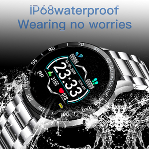 Image 5 - LIGE جديد الرجال ساعة ذكية رجل IP68 مقاوم للماء الرياضة آيفون smartband رسالة الاهتزاز دعوة تذكير smartwatch ساعة صحية