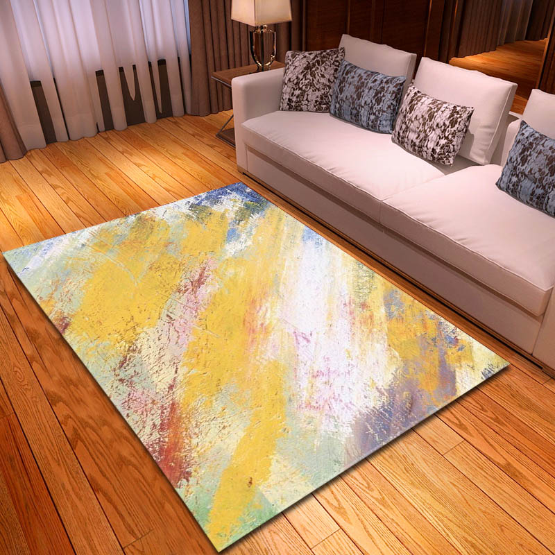 Oil Painting Style Farmhouse Lighthouse Area Rugs Bedroom Living Room Floor Mat
