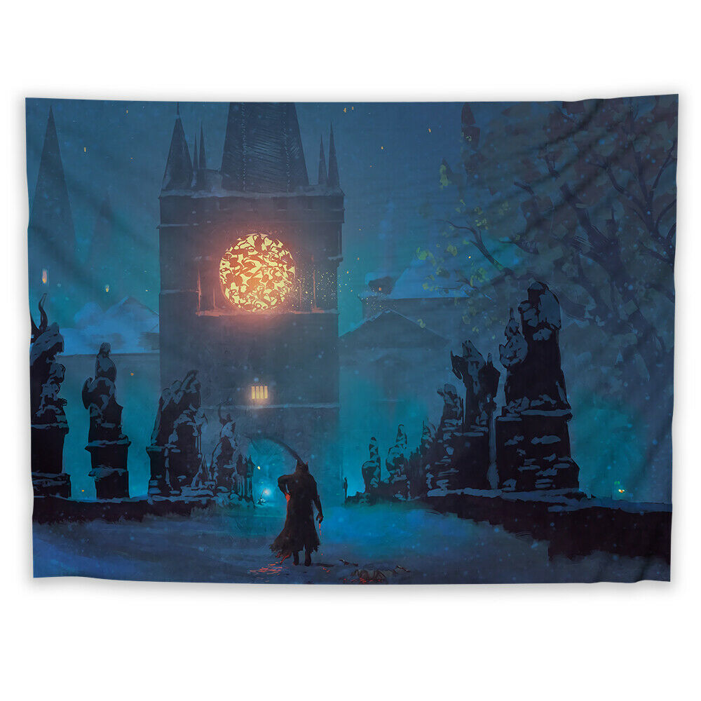 Bloodborne Tapestry Art Wall Hanging Sofa Cover Home Decor