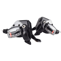 Fmfxtr 8/24 Speed Bicycle Shifter Brake Conjoined Derailleurs Mountain Bike Road Handle Crank Levers Mtb Transmission Shifters Sports & Entertainment -