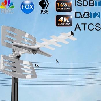 Ant-398B Outdoor Antenna TV DVB-T/T2 Digitale HDTV ATSC ISDB-T DVB-T2 150 MIGLIA di GAMMA tv box antena tv digital UHF 4k
