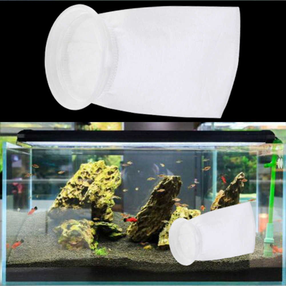 100/150/200um PP bolsa de filtro de acuario Filtro de tanque de peces red Sump micrón bolsa de calcetín bolsas de acuario suministros de productos para mascotas