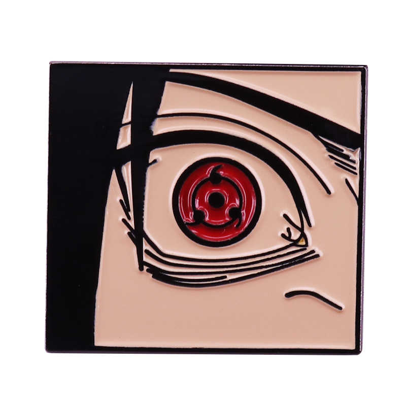 Naruto Sasuke Sharingan Badge Cool Anime Accessoire