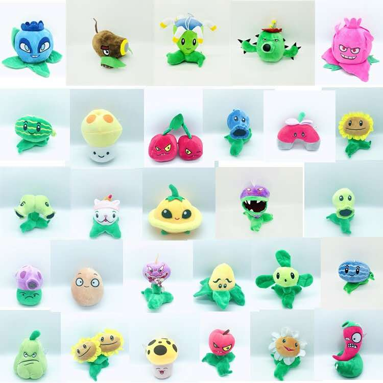 1PCS 27 Style Plants Sunflower Potato Vs Zombies Plush Toys 13-20cm Soft Stuffed Plush Toys Doll Baby Toy For Kids Gifts