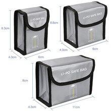 Bateria à prova de explosão saco de armazenamento protetor para dji mavic mini lipo bateria portátil seguro à prova de fogo caixa de proteção caso