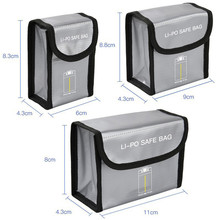 Battery Explosion Proof Protective Storage Bag for DJI Mavic Mini Lipo Battery Portable Safe Fireproof Protection Case Box