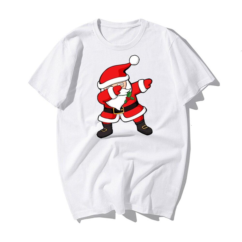 Funny Santa Claus Reindeer Lover CHRISTMAS GIFT T-SHIRT Happy New Year T Shirt Man Tshirt Merry CHRISTMAS Casual Cotton Kawaii 2