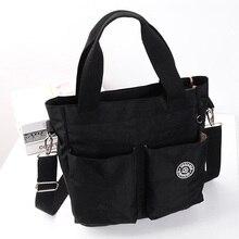 Новое поступление, модная повседневная Водонепроницаемая нейлоновая сумка мессенджер через плечо #6371